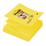 KARTECZKI SAMOPRZYLEPNE POST-IT? SUPER STICKY Z-NOTES 76 x76 MM