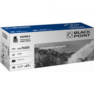 Toner BlackPoint LBPPBTN2005 zastępuje Brother TN-2005