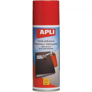 Spray do usuwania etykiet APLI, 200ml