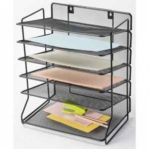 Sorter na dokumenty Office Set metalowy czarny Q-CONNECT