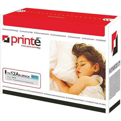 Toner Printe TH12AN-2PACK zastępuje HP Q2612AD/CRG-703